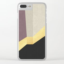 Golden line XIV Clear iPhone Case