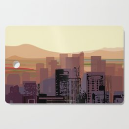Phoenix Skyline Downtown Cutting Board