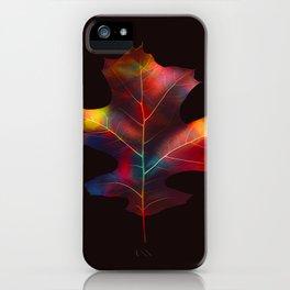 Rainbow Leaf iPhone Case