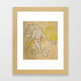 Move Ahead Framed Art Print