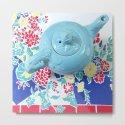 Teapot Blues by tpartyantiques