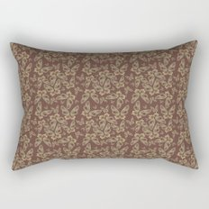 Chocolate Butterflies Rectangular Pillow