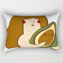 Avocado bae Rectangular Pillow