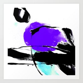 Brush Dance No.602f by Kathy Morton Stanion Art Print
