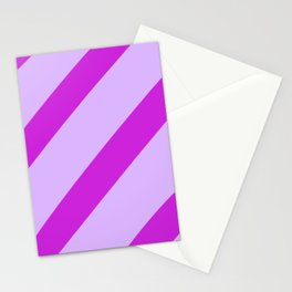 Royal Stripes Stationery Cards