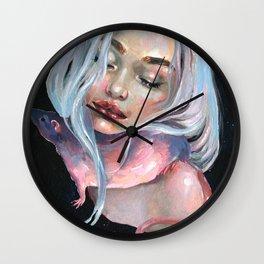 Lunar Tail Wall Clock