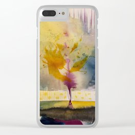 sunny impression Clear iPhone Case