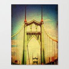 St. John's Bridge Portland Oregon Canvas Print