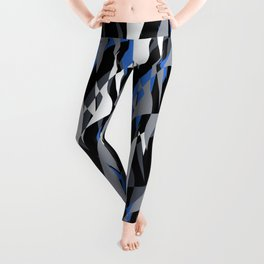 Bright abstract geometric pattern.4 Leggings