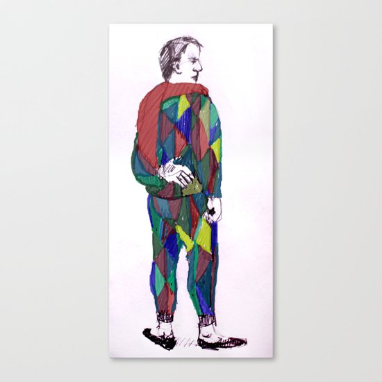 Saltinbanq Canvas Print