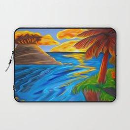 Palm Island Sunrise Laptop Sleeve