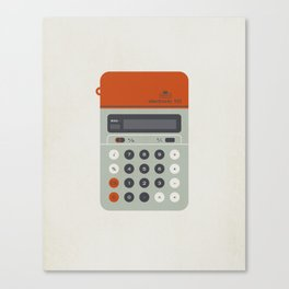 "Vintage Calculator Series: ""Electronic 101"" Canvas Print"