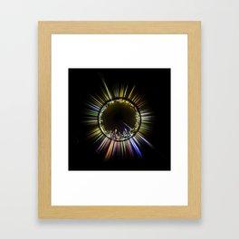 Planet Auckland Framed Art Print