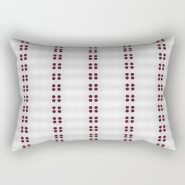 In Line Rectangular Pillow