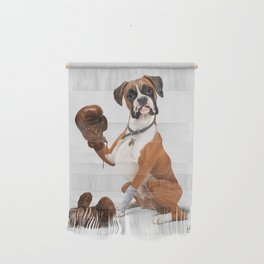 The Boxer (Wordless) Wall Hanging
