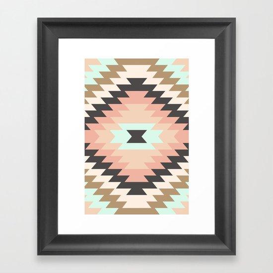 Kilim 1 Framed Art Print