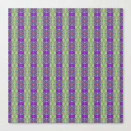 Designer Quilted Stripes Canvas Print