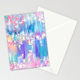 Pretty Pastel Abstract Stationery Cards