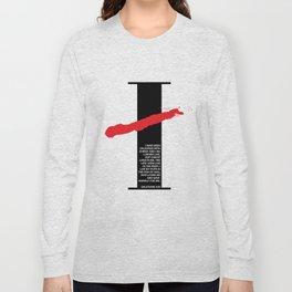 No Longer I. Galatians 2:20 Long Sleeve T-shirt