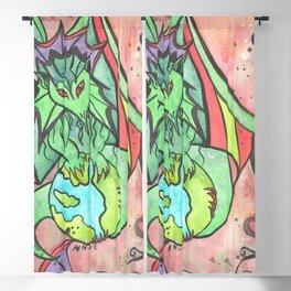 Earth Keeper Dragon Blackout Curtain
