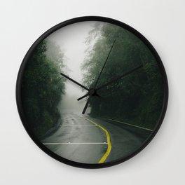 Roadtrip Ecuador Wall Clock