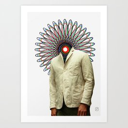 Spiritograph 2 Art Print