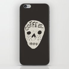 COFFEE DEATH iPhone & iPod Skin