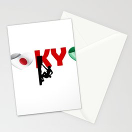 Climbing sport - Italy team in Tokyo Stationery Cards