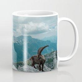 Steinbocks in the Julian alps Coffee Mug