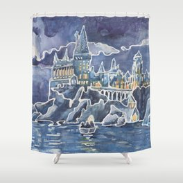 Magic Castle School for Magical Kids Shower Curtain