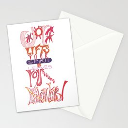 JOY Lifts Your Spirit & Leaves You Feeling Fabulous Stationery Cards