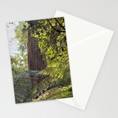 Wood Monolith Stationery Cards