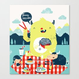 yummy yakisoba! Canvas Print