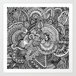 Doodle 17 Art Print