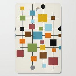 Mid-Century Modern Art 1.3 Cutting Board