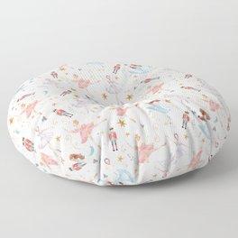 Christmas ballet Floor Pillow