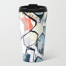Ava Abstract Print Travel Mug