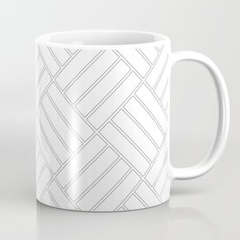 Grey Pattern 1 | Line work Coffee Mug