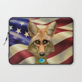 Patriotic Arizona GQ Coyote Laptop Sleeve
