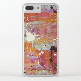 ka-rooz Clear iPhone Case