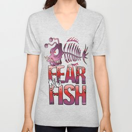 Fear No Fish Unisex V-Neck