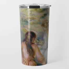 """Pierre-Auguste Renoir """"In the Meadow"""" Travel Mug"""