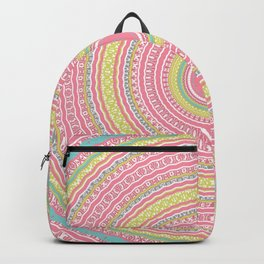 Pink Gypsy Mandala Backpack