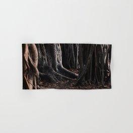 Spooky Winter Trees Hand & Bath Towel