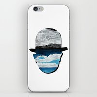 magritte iPhone & iPod Skins featuring Ceci n'est pas une Magritte by Condor