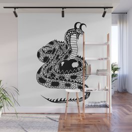 Serpent and the Poisonous Apple Wall Mural