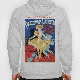 Vintage film history ad Jules Cheret Hoody