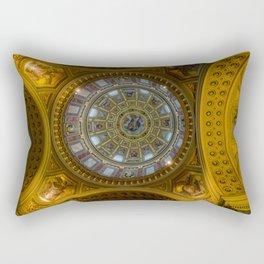 Domed. Rectangular Pillow