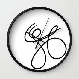 Scribble Wall Clock