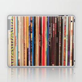 Indie Rock Vinyl Records Laptop & iPad Skin